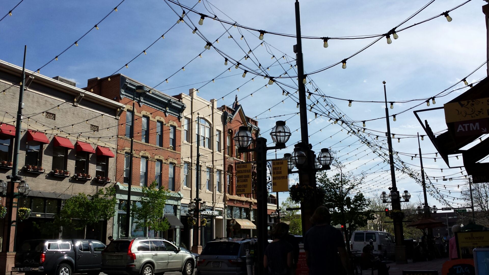 Body- Larimer Square during the day